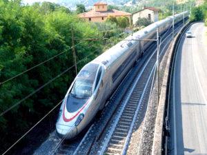 Железнодорожный маршрут из Урумчи в Люксембург.