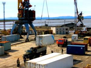 Новая система досмотра грузов в одном из портов приморского края