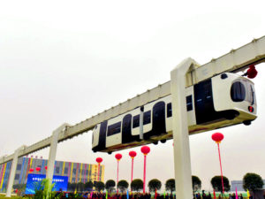 Первая подвесная ЖД дорога появилась в Китае
