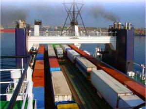 Сотрудничество между Россией и Данией в области морских грузоперевозок